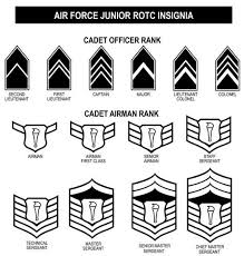 Awards And Decorations Air Force by Air Force Jrotc Ribbons And Rank Chart