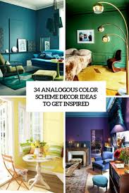 Teal Green Living Room Ideas by 34 Analogous Color Scheme Décor Ideas To Get Inspired Digsdigs
