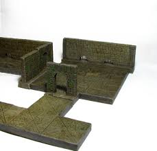 Making 3d Dungeon Tiles by Rome Wasn U0027t Built In A Day U2013 3 D Dungeon Tiles Dagger And Brush