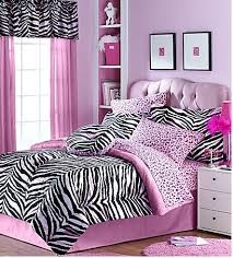 zebra print bedroom