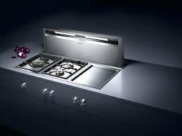 plan de travail cuisine grande largeur hotte cuisine escamotable cette hotte de plan de travail de 120 cm