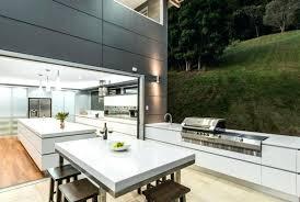 aménagement cuisine d été cuisine d ete moderne dete amenagement terrasse coin repas