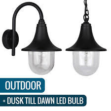 outdoor light fixtures with dusk to ebay