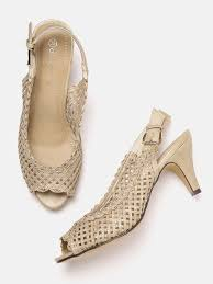 beige heels buy beige heels online in india at best price