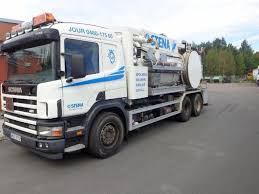 Sale Of SCANIA P124 GB Sewer Jetter Trucks By Auction, Sewer Flusher ...