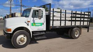 1993 International Flatbed Stake Bed Truck W/ Tommy Lift Gate (979TVA) How To Operate Truck Lift Gate Youtube 2007 Used Isuzu Npr 16ft Box With Salvage Title At 2018 New Hino 268a 26ft Spring Ride Penske Rental Intertional 4300 Morgan Rentals Moving Trucks Just Four Wheels Car And Van Durastar Liftgate Tif Group Everything 2016 268 Industrial Maxon Demo On Tommy The Original Hydraulic