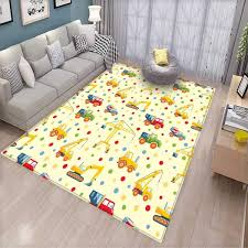 Amazoncom Kids Kids Carpet Playmat Rug Colorful Jungle Animals