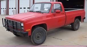 100 1986 Chevy Trucks For Sale Chevrolet D30 Military Postal Unit Pickup Truck Item
