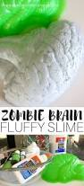 Halloween Jello Molds Brain by How To Make Zombie Slime With Fluffy Slime Recipe For Kids