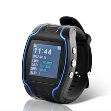 A sort of petitor to us A GPS Wrist Watch Tracking Device