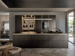 küche mit kücheninsel ohne griffe siematic slx by siematic