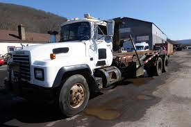 1999 Mack RD688S Tandem Axle Roll Off Truck For Sale By Arthur ... Vehicles Rays Trash Service Rolloff Tilt Load Becker Bros Used Rolloff Trucks For Sale 2001 Kenworth T800 Roll Off Container Truck Item K1825 S A Rumpke Hoists A Compactor Receiver Box Compactors 2009 Mack Pinnacle Truck Youtube In Fl Freightliner Business Class M2 112 Roll Off Trailer System Customers Call The Ezrolloff Beast 2003 Cv713 1022