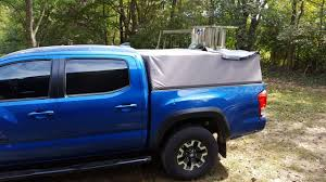 Custom Soft Topper Out Of Canvas, Pic And Velcro   Tacoma World Best Truck Camping Setup Tent Campers Roof Top Tents Or What Ovrlnd Custom Topper My First Major Wood Project Camper Odworking Pickup Cover Need Suggestions Defender Forum Lr4x4 The Land How To Canopy Pass By A Rope Pulley System Home Decor By Building Primitive 8 Steps With Pictures Ez Lift Lets Truck Bed Cap Rise Convert Softopper Install And Review Pics Dodge Ram Forum Dodge Bestop Supertop On Youtube Has Anybody Added Shell Their Pro Page 2 Toyota Tundra Camper Cover Tech Articles Rv Magazine