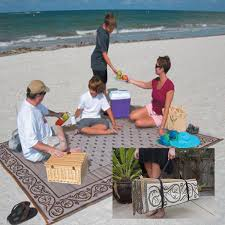 Outdoor Patio Mats 9x12 by Rv Outdoor Rug 9x12 Reversible Area Carpet Brown Large Camper