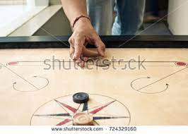 Carrom Board Game Stock Photo 724329160