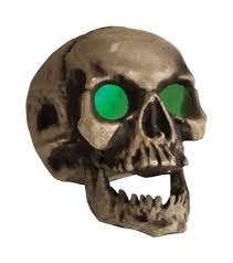 Fiber Optic Pumpkin Head Scarecrow by Skull Props