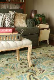 Brown And Teal Living Room Pictures by Remodelaholic 20 Green And Blue Area Rugs You U0027ll Love