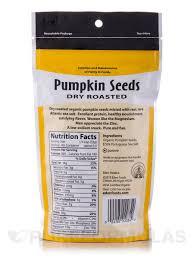 Roasted Shelled Pumpkin Seeds by Seeds Dry Roasted U0026 Salted Organic 4 Oz 113 Grams