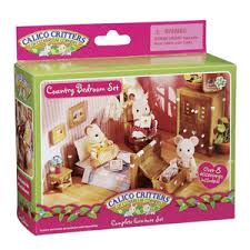 calico critters country bedroom jazams