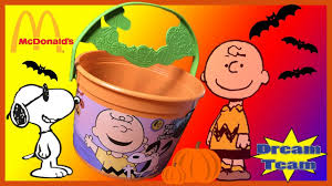 Mcdonalds Halloween Buckets by 2016 Mcdonald U0027s Peanuts Happy Meal Toys Halloween Pails Buckets