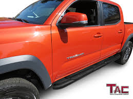 TAC Side Steps For 2005-2018 Toyota Tacoma Double Cab Truck Pickup 4 ... 2018 Toyota Tacoma Accsories Youtube For Toyota Truck Accsories Near Me Tacoma Advantage Truck 22802 Rzatop Trifold Tonneau Cover Are Fiberglass Caps Cap World 2017redtoyotamalerichetcover Topperking Bakflip F1 Autoeqca Cadian Dodge 2016 Beautiful Blacked Out Trd Grill On Toyota Double Cab Specs Photos 2011 2012 2013 2014 Bed Upcoming Cars 20