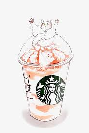 Drawing Frappuccino Drink Starbucks PNG Image And Clipart