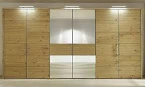 details zu massivholz schlafzimmer schrank 6türig 365cm spiegel kiefer massiv gelaugt geölt