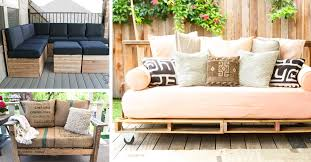 20 DIY Pallet Patio Furniture Tutorials For A Chic And Practical Outdoor Cute Projects