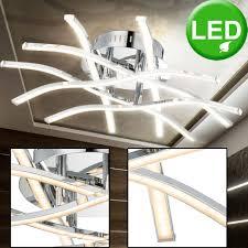dettagli su led 26 5 watt ceiling light acrylic rods satin dining room l lighting eek a