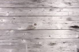 Grey Wooden Table Surface Texture And Background Stock Photo