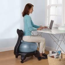 Stability Ball Desk Chair by Yoga Ball Office Chair Three Desk Chairs Photo 64 Chair Design