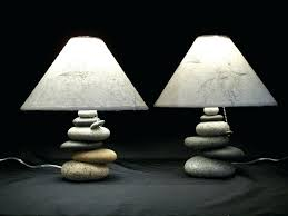 Wayfaircom Table Lamps by Table Lamps Pair Of Small Unique Bedside Table Lamps With Stone