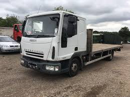 IVECO 75E18 FLET BED TRUCK SLEEPER CAB 22 FOOT LONG FLAT BED BODY ...