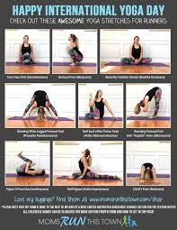 Yoga Poses And Stretches For Runners