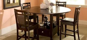 northfield 5 pc counter height dining set brown raymour