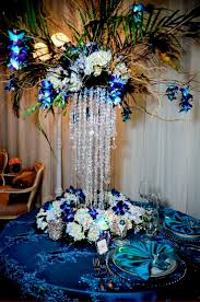 Tall Peacock Wedding Centerpieces Ideas Wedding Party Decoration