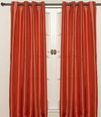 Orange Sheer Curtains Walmart by Orange Kitchen Curtains Home Design Ideas And Pictures