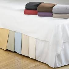 Split Cal King Bed Skirt  Cotton 200 Thread Count – Bed Linens Etc