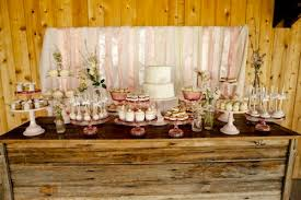 How To Create A Rustic Dessert Table For Your Barn Wedding