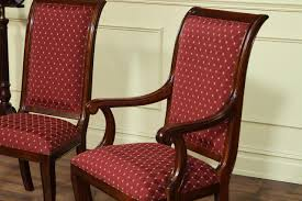 Dining Room Chair Covers With Arms by Classic Fabric Dining Room Chairs