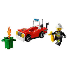 City Fire Car Mini Set LEGO 30347 [Bagged] - Walmart.com