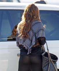 Sofia Vergara See Through Black Tights