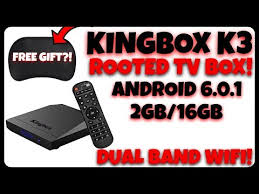 THIS ROOTED TV BOX INCLUDES A FREE GIFT LEELBOX KINGBOX K3 ANDROID TV BOX REVIEW