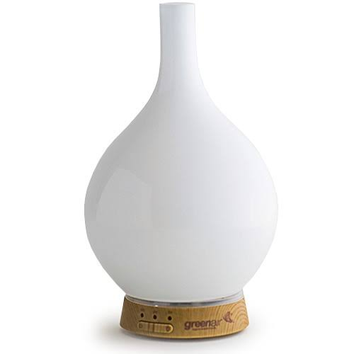 GreenAir SpaMister Ultrasonic Oil Diffuser - Milk Glass