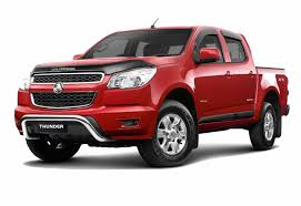 Holden Colorado Thunder Special Edition Brings Added Value ...