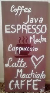 Coffee Sign Bistro Kitchen Decor By FaithEarthAndSoul