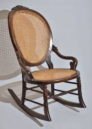Victorian Walnut Lady's Rocking Chair At 1stdibs