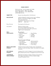 Resume For High School Student First Job Fresh Objective Examples Templates Basic Template