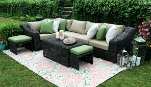 Outdoor Sectional Sofa Canada by Sectional Deep Seating Outdoor Wicker Sectional Outdoor Wicker