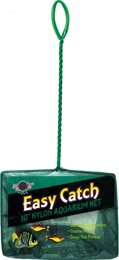 Blue Ribbon Pet Products ABLEC10C Easy Catch Fish Net - Coarse Green, 10""